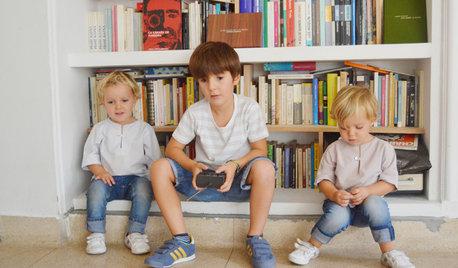 Niños en casa: ¿Cómo consiguen armonía y orden otras familias?