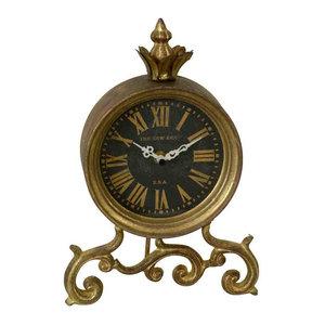 EMDE Gold Table Clock