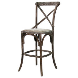 Farmhouse Bar Stools And Counter Stools by Zentique, Inc.