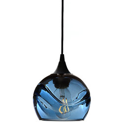 Contemporary Pendant Lighting by Bicycle Glass Co.