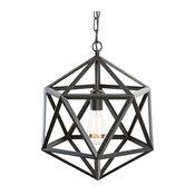 Geodesic Pendant Lamp