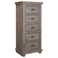 Willow Lingerie Chest, Weathered Gray