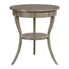 Vanguard Furniture   Vanguard Furniture Miranda Lamp Table C304L LG   Side  Tables And End