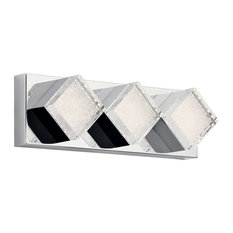 "elan Gorve 17"" LED Linear Bath Vanity Light 83716 - Chrome"