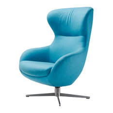 KG   Jester Aqua And Stainless Steel Armchair   Recliner Chairs