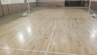 Badminton & Squash Court Laying