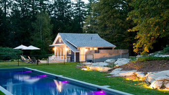 Barn to Pool House Conversion