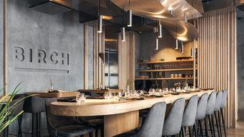 Изготовление светильников для ресторана Birch