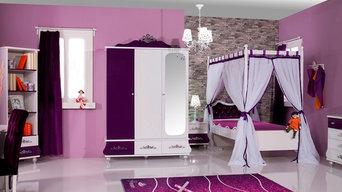 Kinderzimmer Anastasia lila