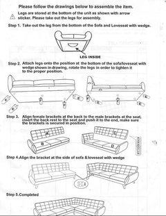 Modern Retro Sectional Sofa Midcentury Sectional Sofas