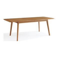 Laural Extension Dining Table, Caramelized, Caramelized