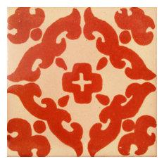 "4""x4"" Mexican Ceramic Handmade Tile #C057"