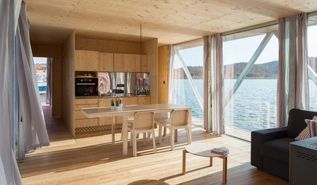 A New Prefab Floating Home: Just Add Water