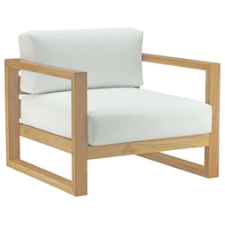 Transitional Outdoor Lounge Chairs by Modway