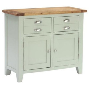 2-Drawer and 2-Door Buffet, French Grey