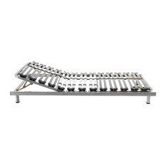 Comfort Manually Adjustable Slatted Bed Frame, Euro Single
