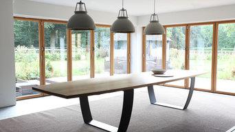 Bespoke Oak/Steel Dining Table