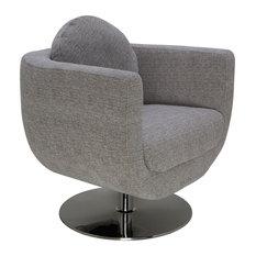 Simone Occasional Chair, Gray