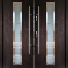Modern Exterior Double Doors contemporary front doors | houzz