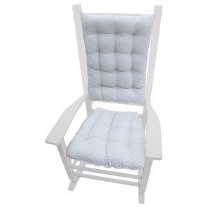 Shabby Chic Rose Rocking Chair Cushions