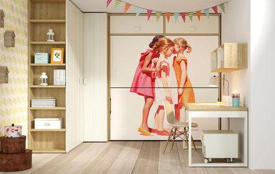 Dormitorios infantiles: Ideas creativas para aprovechar cada milímetro