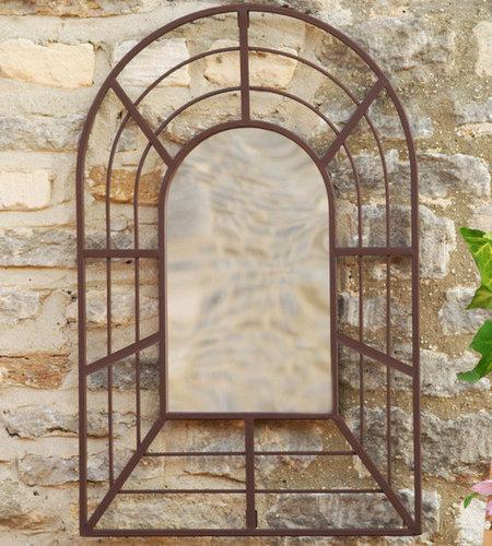 Smart Garden Pergola Garden Mirror   Wall Mirrors