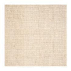 Safavieh Ingram Natural Fiber Rug, Ivory, 7'x7' Square