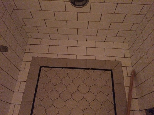 Anxiety Over 1 8 Quot Grout Line For Subway Tile
