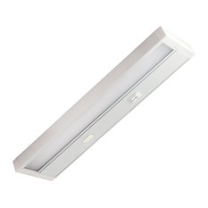 LED Under Cabinet Lighting Fixture- Edge Lit- Dimmable 10W 750 Lumens, Tri-Color