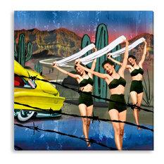 Peggy Weiss' 'Ta Wanda' Canvas Gallery Wrap