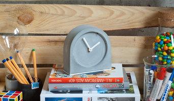 Часы из бетона 1355