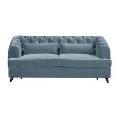 Earl Grey Sofa Bed, Sky, 2-Seater, 113x186 cm
