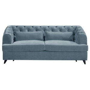 Earl Grey Sofa Bed, Sky, 2-Seater, 113x186 cm