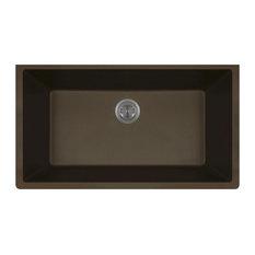 848-Mocha Quartz Granite Sink