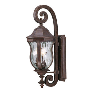 Savoy House Europe Monticello Sconce, 3 Lights, Scroll Design