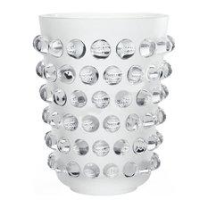 Lalique Mossi XXL Vase Clear