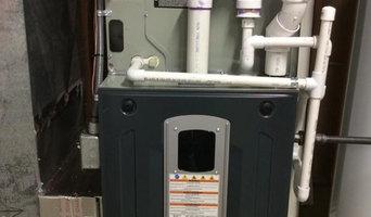 High-Efficiency Furnace Installation