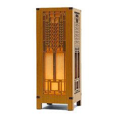 Lightwave Laser   Frank Lloyd Wright Tree Of Life Mini Lightbox Accent Lamp    Table Lamps