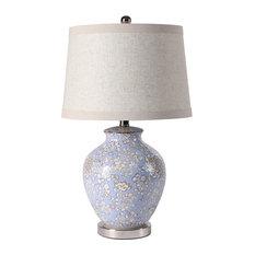 Floral Ceramic Table Lamp