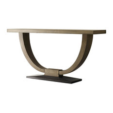 American Drew Evoke Sofa Table, Barley 509-925