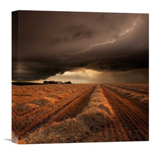 Franz Schumacher Storm In San Francisco Bay Canvas Art Farmhouse Prints And Posters By Trademark Global
