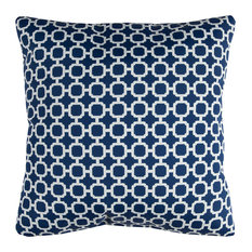 "Rizzy Home TFV079 22"" x 22""  Indoor/ Outdoor Pillow"