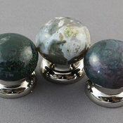 Green Moss Cabinet Knobs