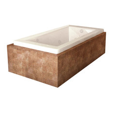 Atlantis Whirlpools Venetian 32 x 66 Rectangular Air & Whirlpool Jetted Bathtub