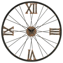 Industrial Wall Clocks by Lighting Front