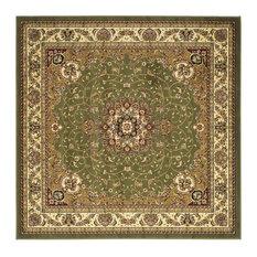 Safavieh Lyndhurst LNH329 Area Rug, Sage/Ivory, 10'x10' Square