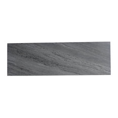 "Gray Calacatta Field Tile 4""x12"" Natural-Rectified, Set of 28"