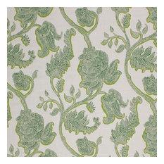 "Kahana Bloom Io Citrus Fabric, 54""x36"""