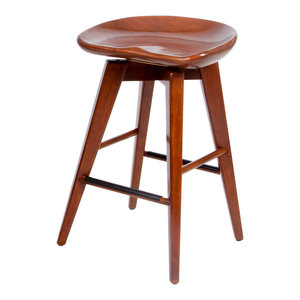 Miraculous Bali Swivel Stool Cappuccino 26 Midcentury Bar Stools Squirreltailoven Fun Painted Chair Ideas Images Squirreltailovenorg