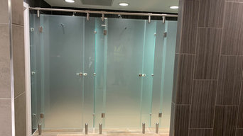 Glass Changing Room Cubicles
